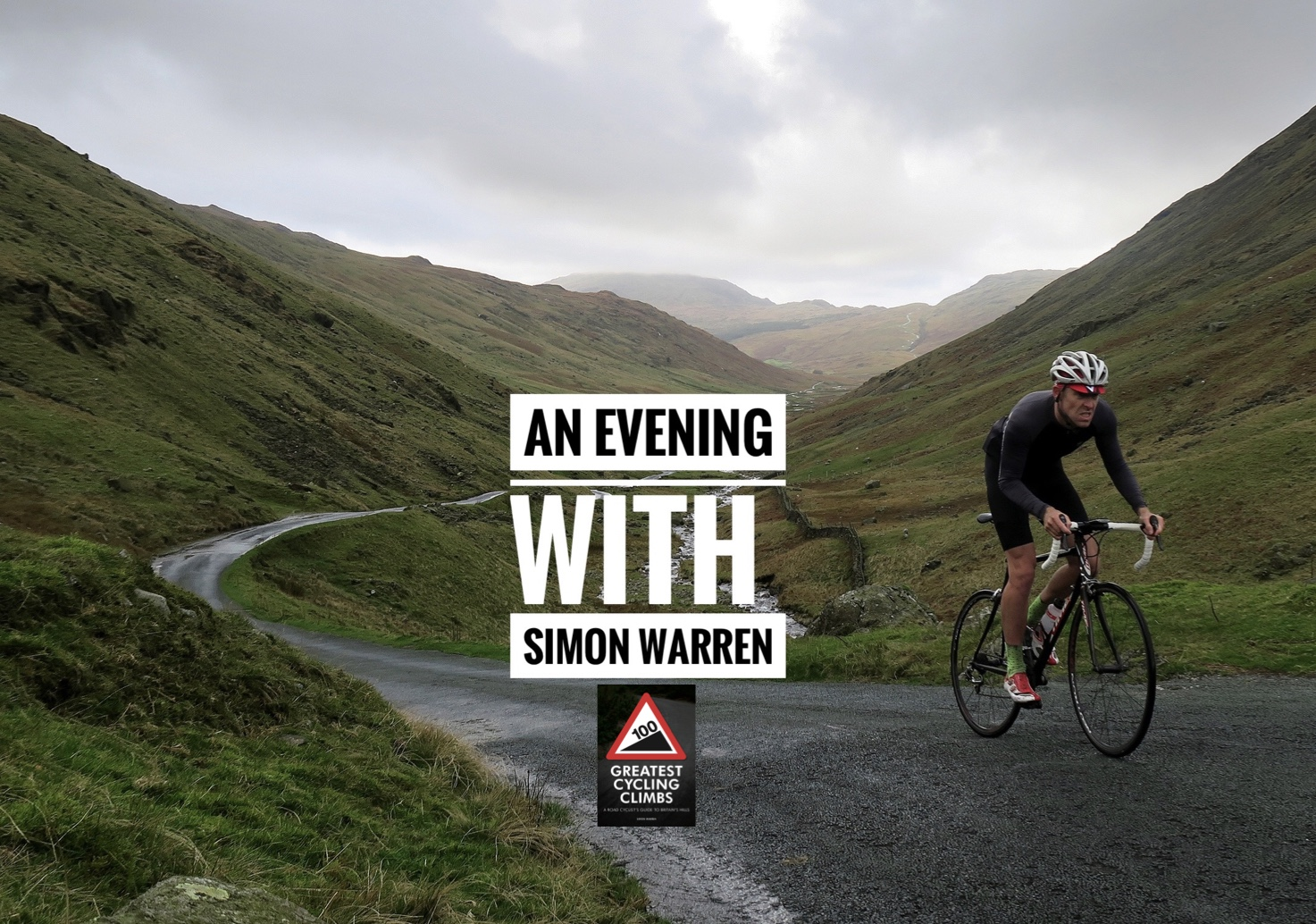 An evening with Simon Warren